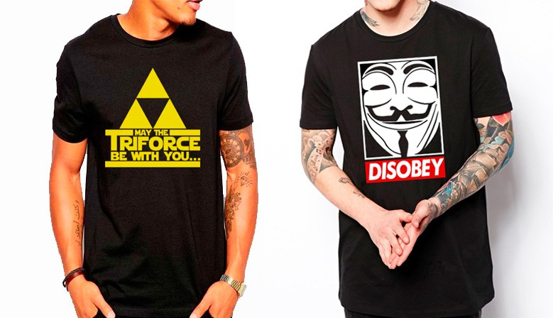 Camiseta May the Triforce y Anonimous