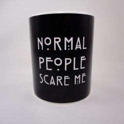 Taza Normal People Scare Me